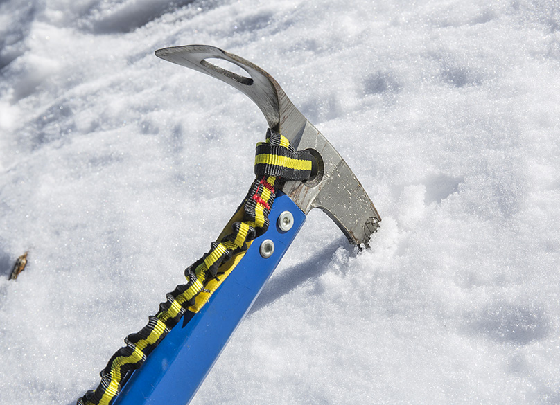 Ice Axe in Use