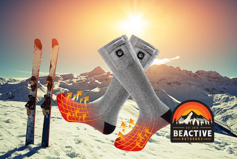 Heated Ski Socks