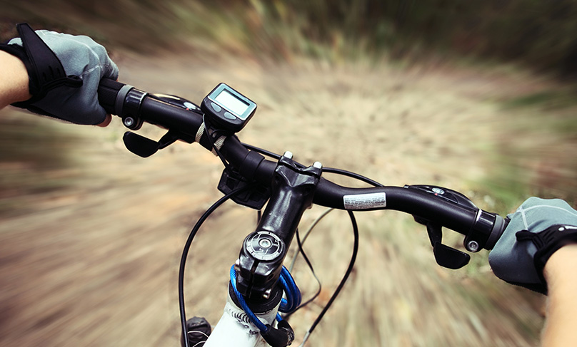 Mountain biking gloves will give you an enhanced grip