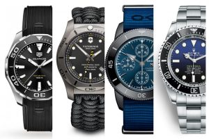 top styles of diving watches