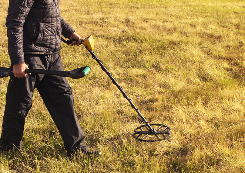 Make sure to ask permission before metal detecting